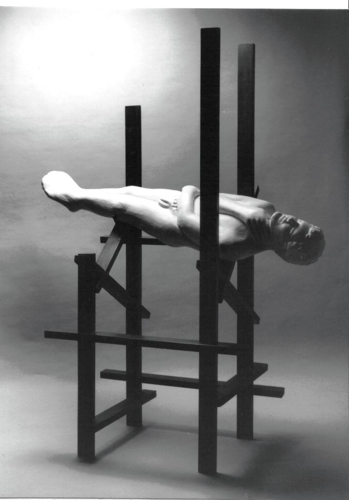 A man wakes. 1987