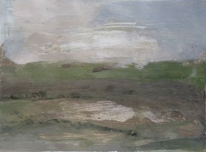 Landscape 2. Spain. September 2015. 22x32.5cm.